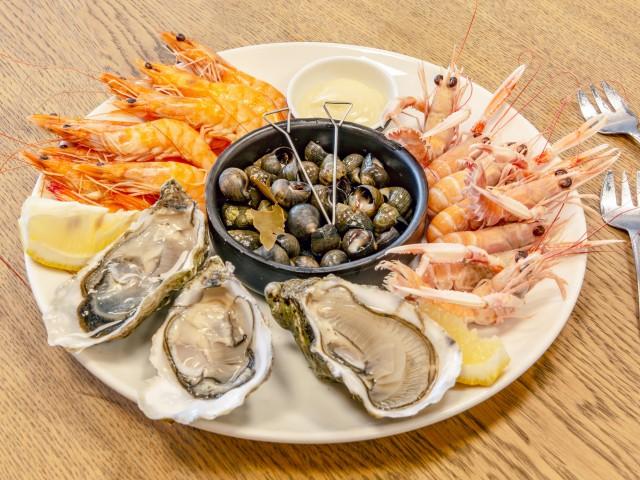 l'océan gourmand assiette de fruits de mer